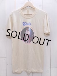 1970s ELVIS THE KING OF ROCK&ROLL Tシャツ 表記L