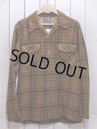 1960s【PENDLETON】ウールシャツ 表記M