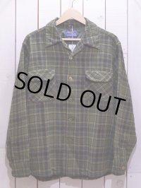 1960s【PENDLETON】ウールシャツ 表記L