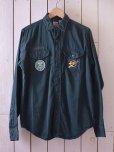 画像1: 1960s BOY SCOUTSシャツ <br>表記S 14 1/2<br> (1)
