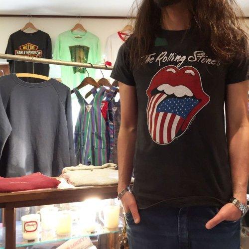 詳細画像1: 1980s The Rolling Stones North American Tour Tシャツ  表記M