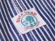 画像8: 1960s〜【DUCK HEAD】エプロン付きダブルニーヒッコリーオーバーオール  DEAD STOCK!!  表記W40 L34