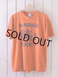 1980s McNAMARA CONCRETE Tシャツ  表記L