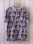 画像2: 1990s ミッキー&ミニー総柄Tシャツ <br>実寸L<br> (2)