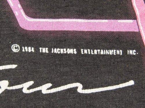 詳細画像2:  1980s〝マイケルジャクソン〟84年VICTORYツアーTシャツ