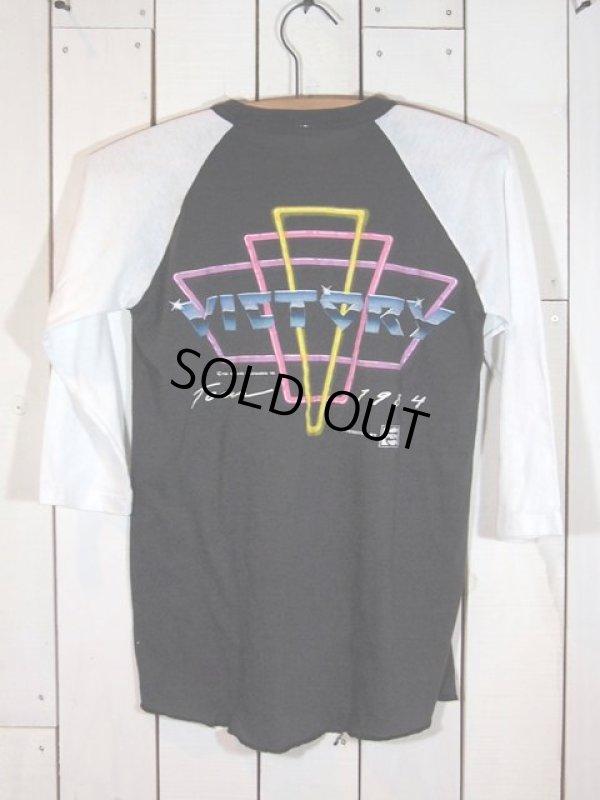 画像2:  1980s〝マイケルジャクソン〟84年VICTORYツアーTシャツ