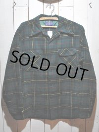 1970s【PENDLETON】ウールシャツ
