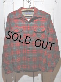 1950s【PENDLETON】ウールシャツ