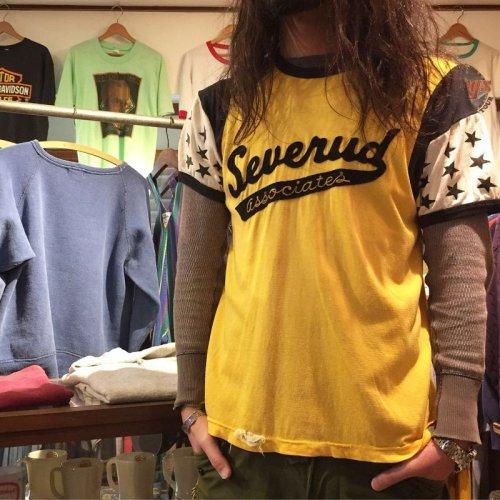 詳細画像1: 〜1960s【Felco】レーヨンTシャツ  表記XL(実寸ML)