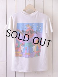 1990s Hard Rock Cafe×Peter Max Tシャツ  表記S