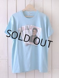 1980s KING OF HEARTS ELVIS Tシャツ  表記XL
