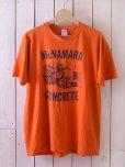 画像1: 1980s McNAMARA CONCRETE Tシャツ <br>表記L<br> (1)