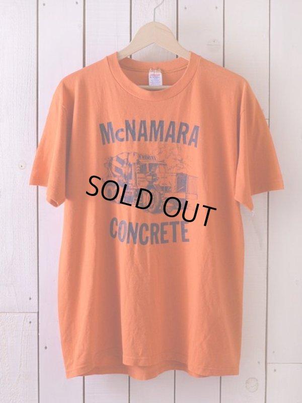 画像1: 1980s McNAMARA CONCRETE Tシャツ  表記L