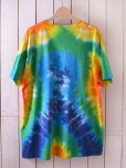画像2: 1990s ゴキゲンな太陽タイダイTシャツ <br>表記XL<br> (2)