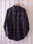 画像1: 1970s PENDLETON ウールシャツ <br>表記M<br> (1)