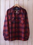 画像1: 1970s PENDLETON ウールシャツ <br>表記L<br> (1)