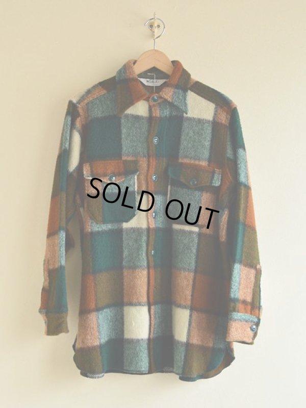 画像1: 1970s Woolrich ウールシャツ  表記M