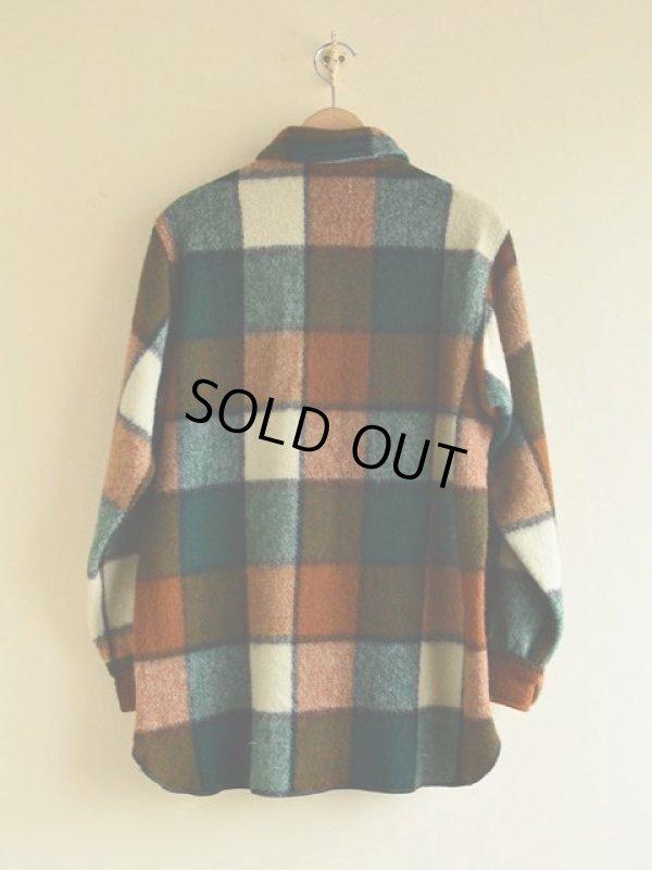 画像2: 1970s Woolrich ウールシャツ  表記M
