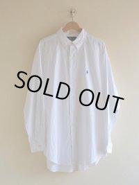 RalphLauren ホワイトBDシャツ  表記17