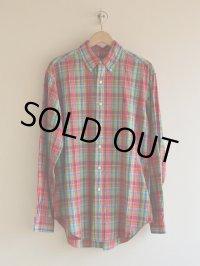 RalphLauren チェックBDシャツ  表記M
