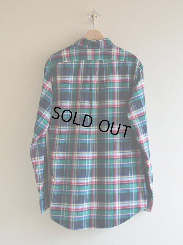 画像2: RalphLauren チェックBDシャツ  表記L