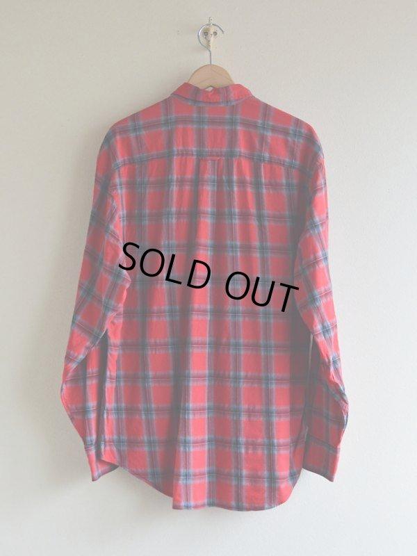 画像2: NAUTICA チェックBDシャツ  表記L