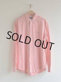RalphLauren オックスフォードギンガムチェックBDシャツ  表記L