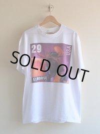 1990s ELVIS 29¢Stamp PARODY ELMOOSE Tシャツ  表記L