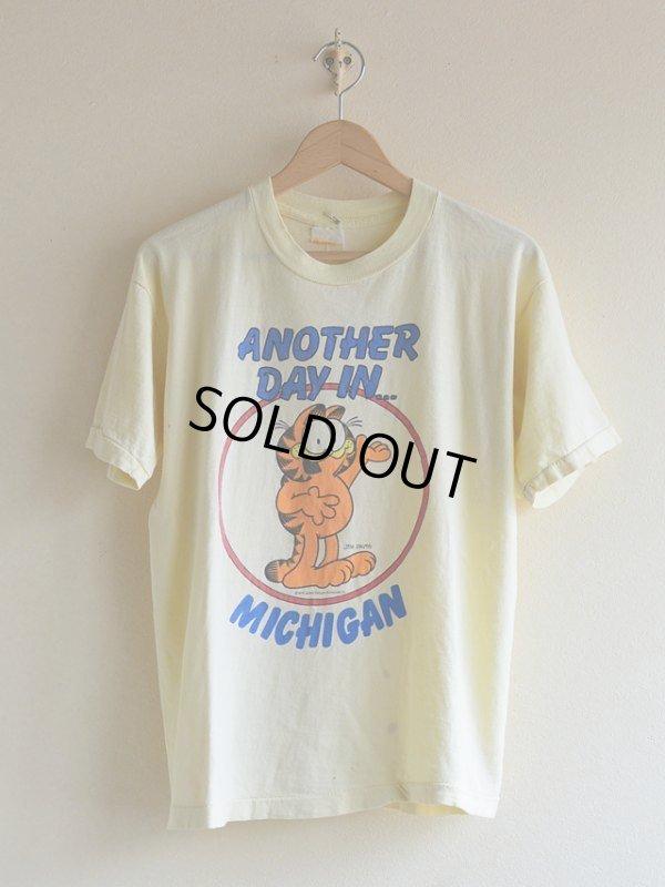 画像1: 1970s Garfield Tシャツ  実寸ML