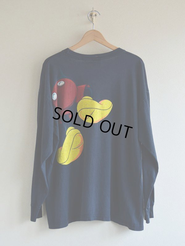 画像2: 1990s Mickey Mouse L/S Tシャツ  表記L