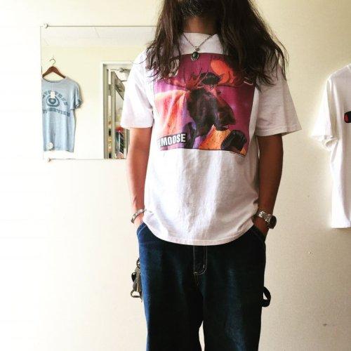 詳細画像1: 1990s ELVIS 29¢Stamp PARODY ELMOOSE Tシャツ  表記L
