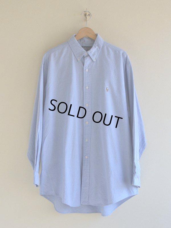 画像1: RalphLauren オックスフォードBDシャツ  表記17