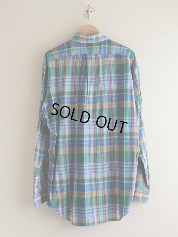 画像2: RalphLauren チェックBDシャツ  表記M