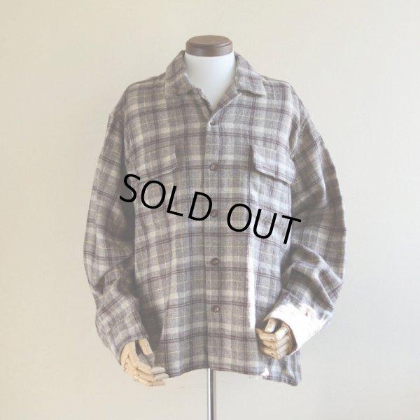 画像1: 1950s〜 Woolrich ウールシャツ  表記XL