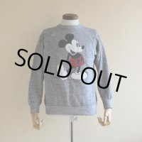 1980s Mickey Mouse スウェット  実寸M