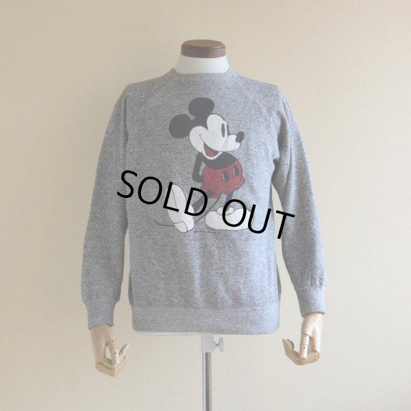 画像1: 1980s Mickey Mouse スウェット  実寸M