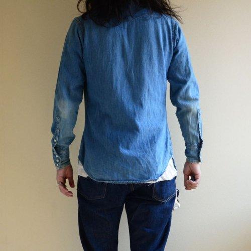 詳細画像3: 1970s MAVERICK デニムウエスタンシャツ  実寸S