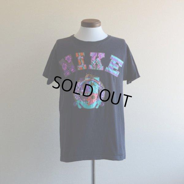 画像1: 1990s NIKE カレッジロゴTシャツ  表記M