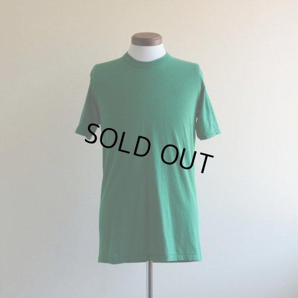 画像1: 1970s〜 RUSSELL 無地バインダーネックTシャツ  表記L