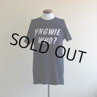 1980s  YNGWIE MALMSTEEN  Tシャツ  表記L