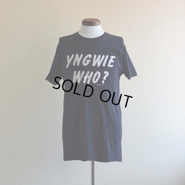 画像1: 1980s  YNGWIE MALMSTEEN  Tシャツ  表記L