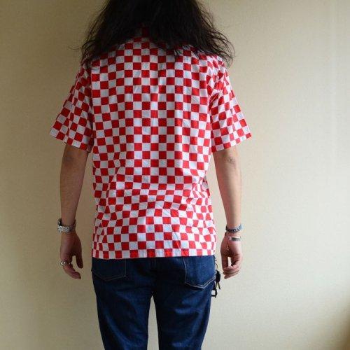 詳細画像3: 1970s チェッカーフラッグシャツ  表記M