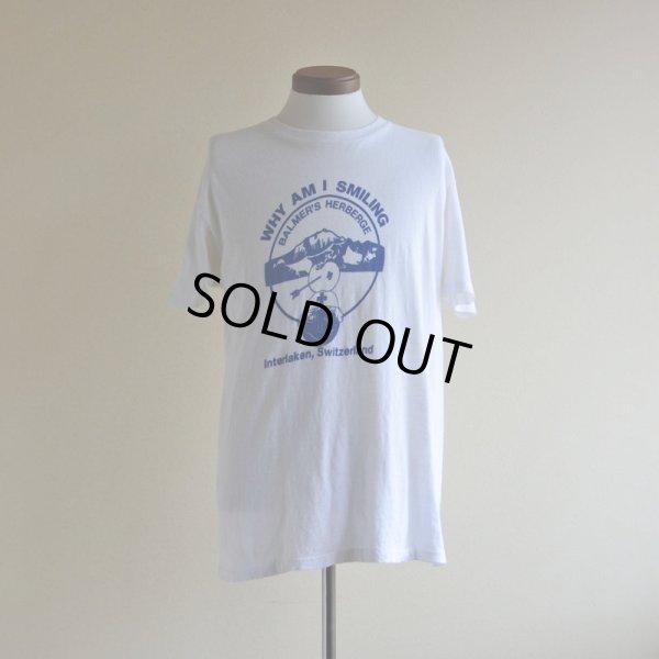 画像1: 1980s BALMER'S HERBERGE Tシャツ  両面染み込みプリント  表記L