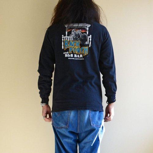 詳細画像3: 1990s BACK PORCH AND B&B BAR L/S Tシャツ  両袖・バックプリンあり  表記M