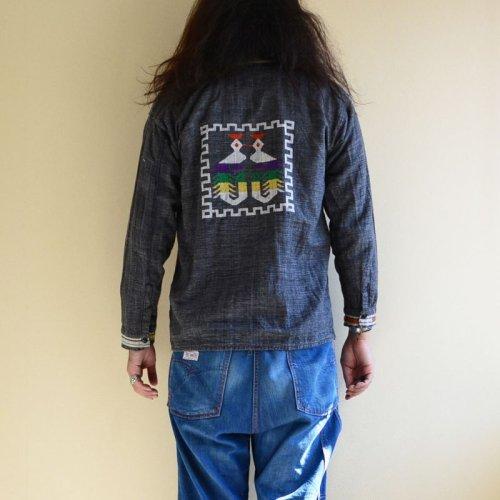 詳細画像3: 1960s-70s グアテマラシャツ  実寸M