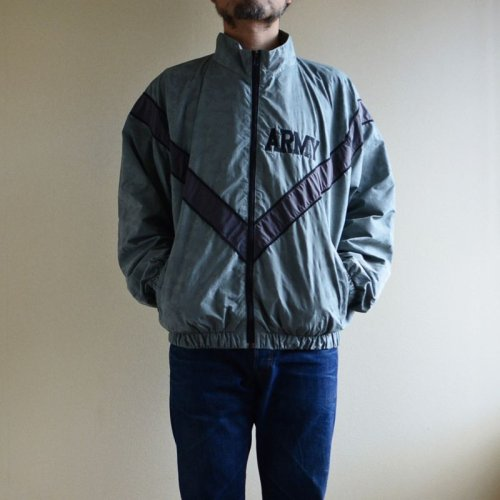 詳細画像1: 2010s US.ARMY PFU ナイロントレーニングジャケット  全面ACU迷彩リフレクト  表記MEDIUM-REGULAR