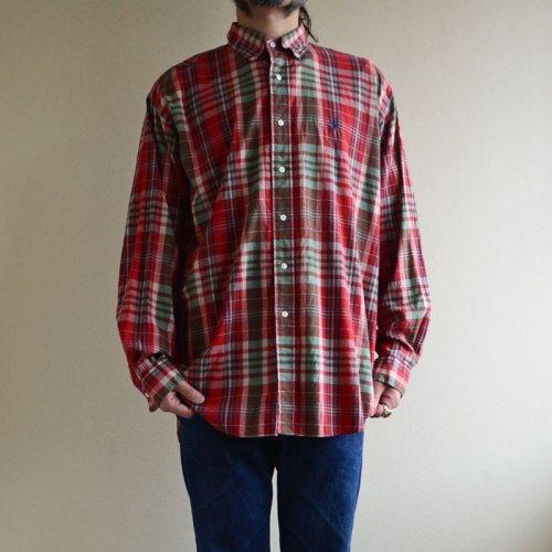 詳細画像1: RalphLauren チェックBDシャツ  表記L