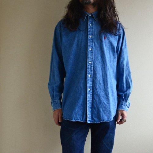 詳細画像1: RalphLauren デニムBDシャツ  表記M