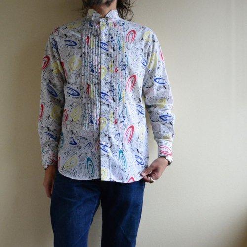 詳細画像1: 1980s L&M FASHIONS ウィングカラーシャツ  表記M