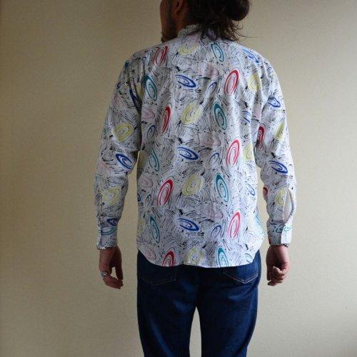詳細画像3: 1980s L&M FASHIONS ウィングカラーシャツ  表記M